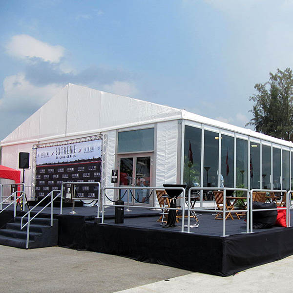 Storage tents for events