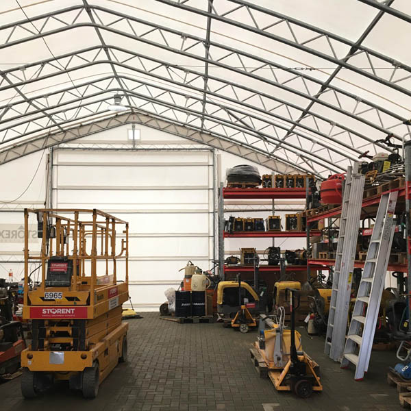 tent hangars warehouses