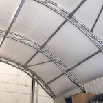 Storex container tent shelters