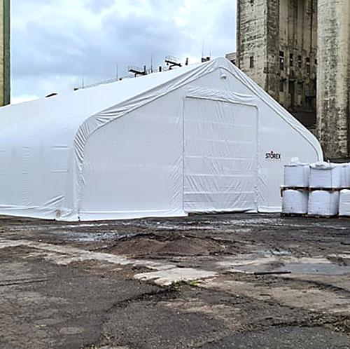 STOREX Тентовые ангары - палатки