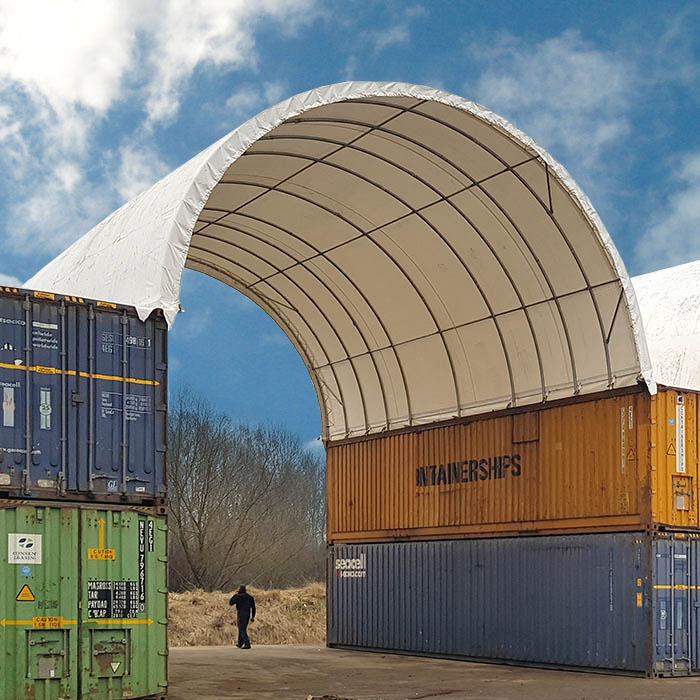 Тентовые укрытия для контейнеров