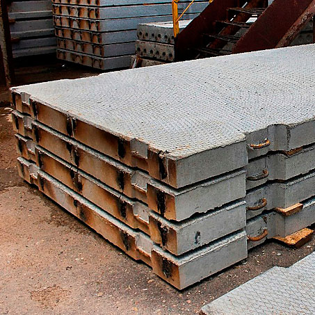 Concrete road slab
